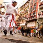 The running of the bulls Madrid